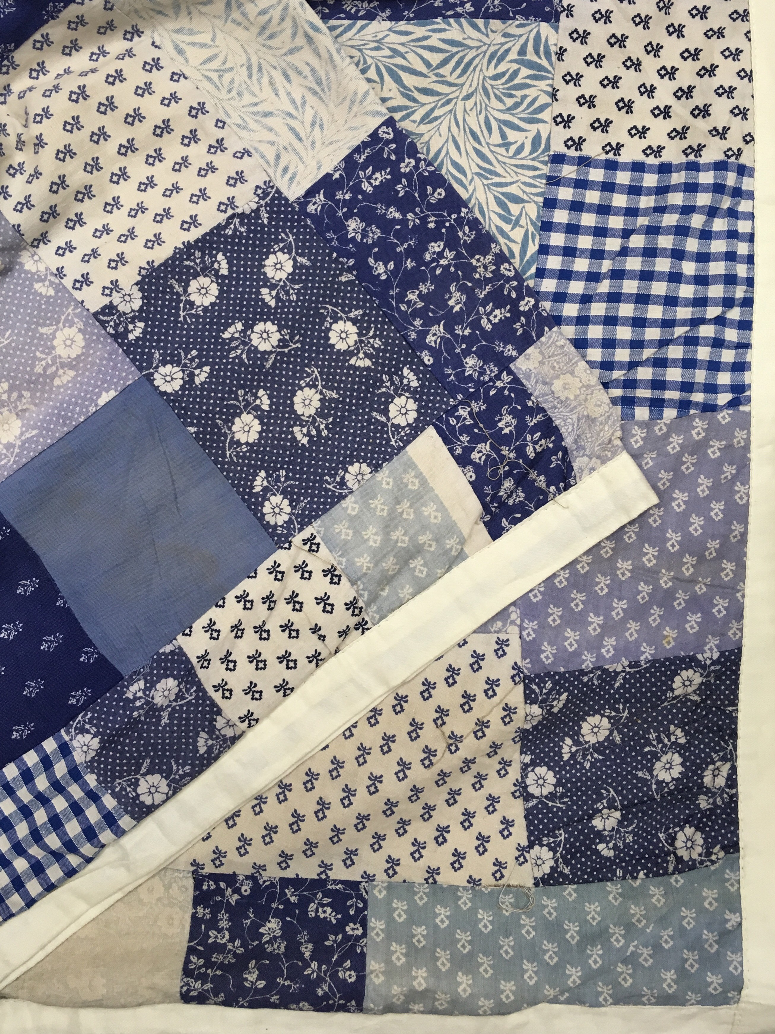 Blue Diamond Patchwork