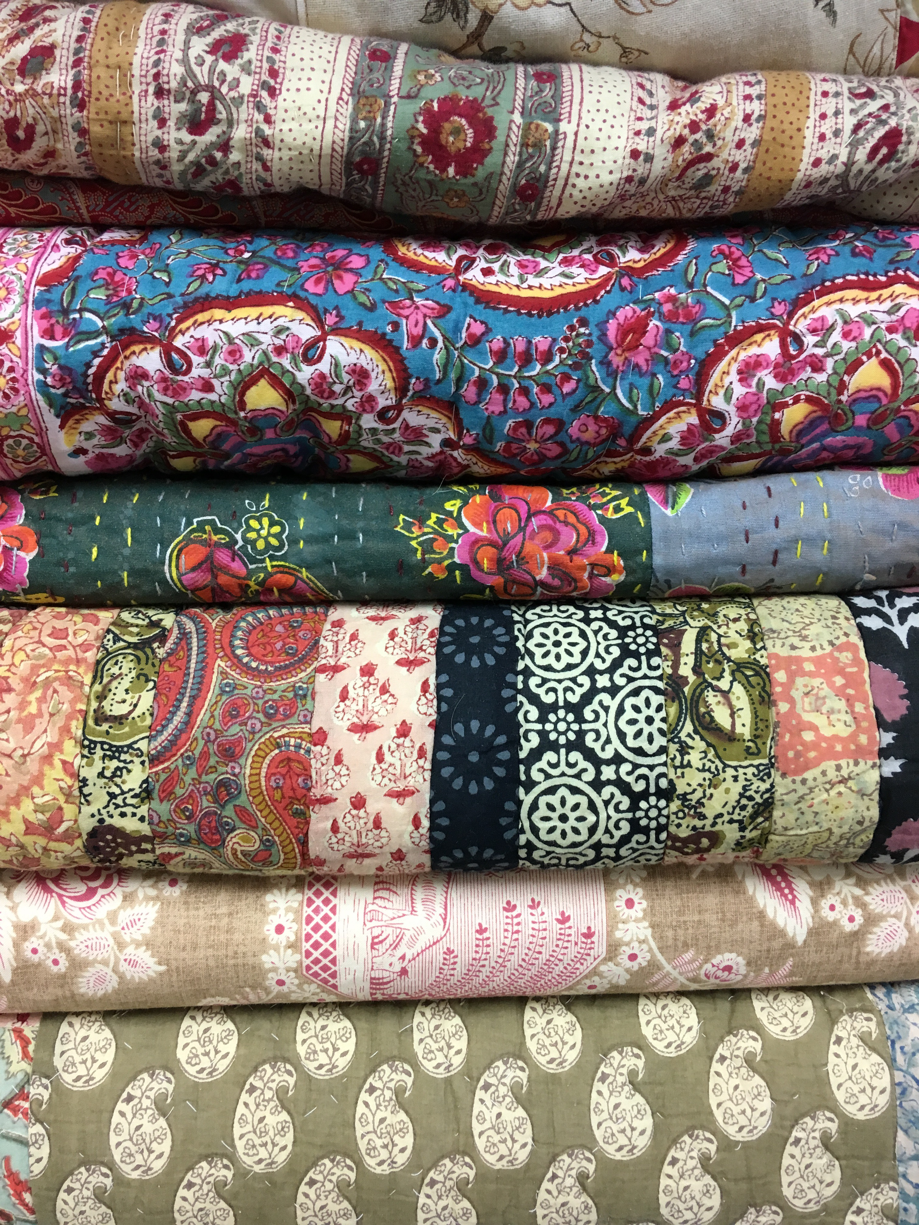 Selection of Paisley Quilts