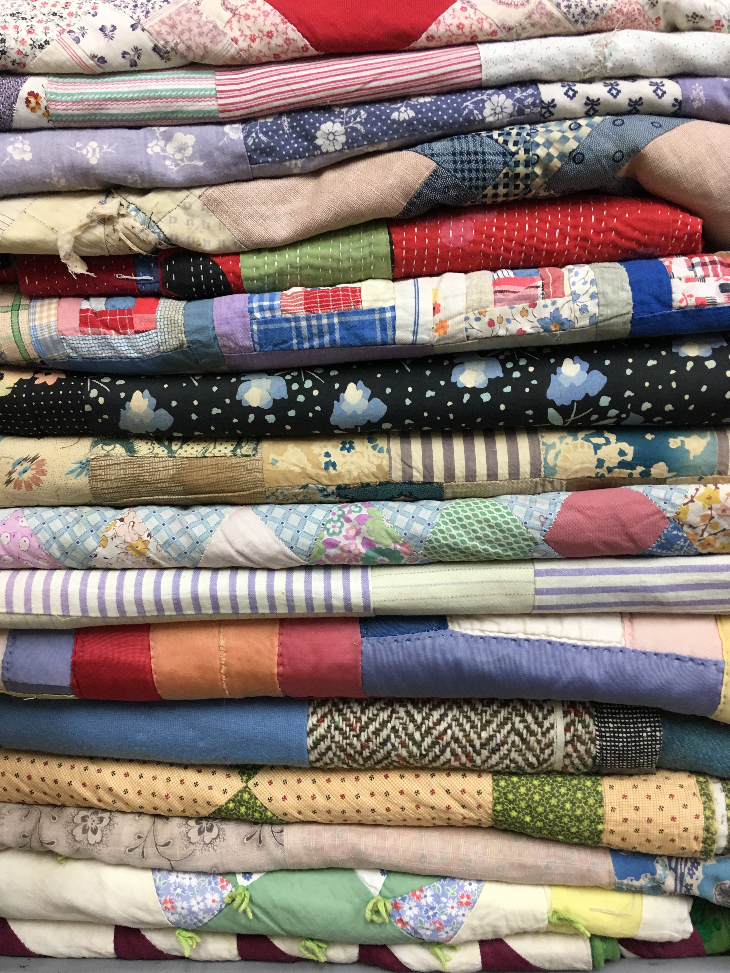 Selection Of Quilted Patchworks