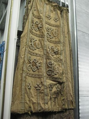 Golden Couched Embroidered Panels