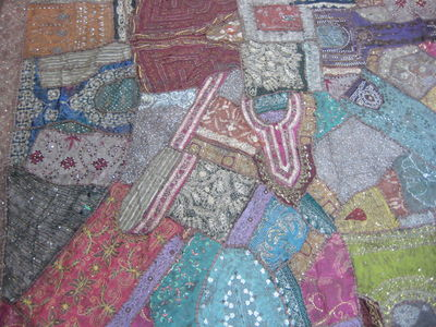 Indian Embroidered Patchwork